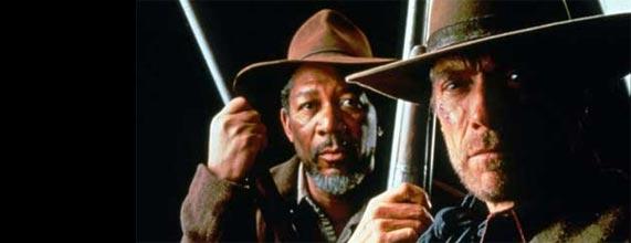 Morgan Freeman et Clint Eastwood
